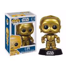 C-3po Robo Star Wars Boneco Funko Pop! Vinyl Bobble Head