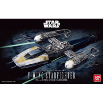 Star Wars Y Wing Star Fighter Model Kit - Bandai Pronta Entr