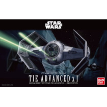 Star Wars Tie Advanced X1 Model Kit - Bandai Pronta Entrega