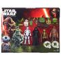 Tk0 Toy Star Wars The Force Awakens Boxset Bb-8 Kylo Ren + 3