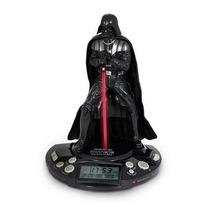 Radio Relogio Star Wars Darth Vader Original Lacrado Luz
