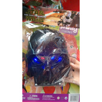 2 Mascaras Star Wars Darth Vader E Soldado Clone