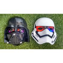 Mascara Darth Vader E Soldado Clone Pronta Entrega