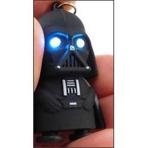 Chaveiro Darth Vader Star Wars Com Led E Som