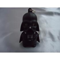 Chaveiro Star Wars Dart Vader Com Som E Luz 5,5cm