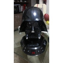 Star Wars Darth Vader Capacete Cd Boombox Com Rádio Am / Fm