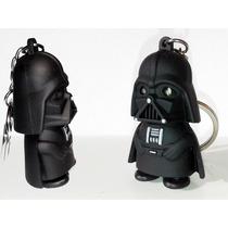 Pacote Com 2 Chaveiros Darth Vader Com Lanterna Led