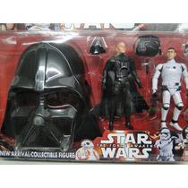 Coleção Star Wars- Darth Vader Stormtrooper + Máscara
