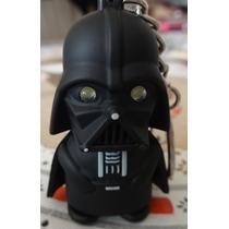 Chaveiro Darth Vader Star Wars Com Olhos De Led E Som Novo