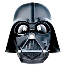 Máscara Eletrônica Darth Vader Star Wars Muda A Voz Fantasia