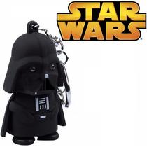 Chaveiro Darth Vader Star Wars Led Som Anakin Skywalker Jedi