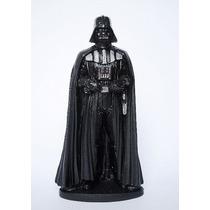 Estatueta Em Resina Darth Vader + Mestre Yoda Star Wars