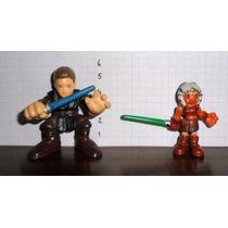 Star Wars - Clone Wars - Anakin E Ahsoka