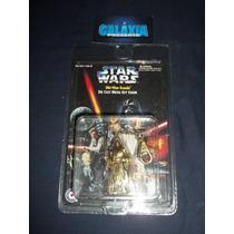 Star Wars Boneco Metal Chaveiro Obi Wan Kenobi Oficial