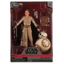 Star Wars The Force Awakens Elite Series-rey E Bb-8 -nacaixa