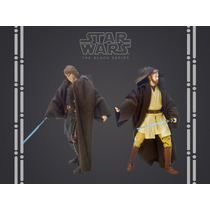 Robe Jedi Marrom Para Figuras Hasbro Star Wars Black Series