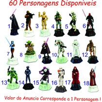 Coleção Star Wars Xadrez Figuras Chumbo
