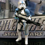 Star Wars Clone Commander Baccara Attack Loose Brinquetoys
