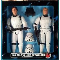 Han Solo & Luke Skywalker -star Wars Collector Series Hasbro