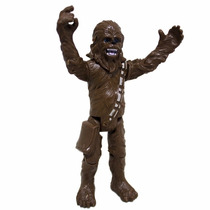 Kit 2 Bonecos Da Saga Star Wars Stormtrooper + Chewbacca