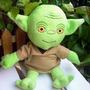 Pelucia Mestre Yoda 17cm - Star Wars