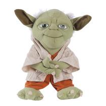 Yoda Boneco Mestre Pelúcia Star Wars 32cm Multibrink Mb6175