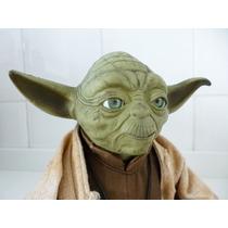 Mestre Yoda Eletrônico - Star Wars - Hasbro 2004 - 19 Cm