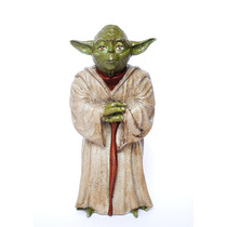 Mestre Yoda - Star Wars - Estatueta Em Resina