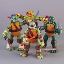 Tmnt Teenage Mutant Ninja Turtles Pvc Tartarugas Ninja 4 Pçs