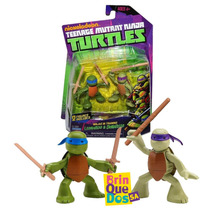 Tmnt Tartarugas Ninja Turtles Training Leonardo Donatello