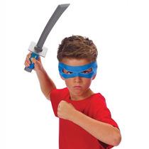 Kit De Acessórios Tartarugas Ninja - Leonardo - Multikids