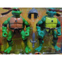 04 Bonecos Tartarugas Ninja Com Acessorios