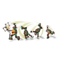 Boneco Tartarugas Ninjas Action Michelangelo Mania Virtual