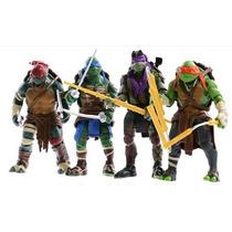 4 Bonecos Tartarugas Ninja Filme 2014 - Pronta Entrega