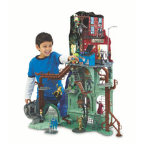 Tartarugas Ninja Playset Quartel General Mania Virtual