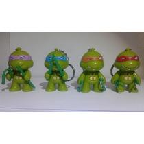4 Chaveiros Tartarugas Ninjas E Luz E Som