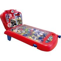 Pinball Transformers Com Luz E Som! By Kids