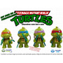 Kit Chaveiros Tartarugas Ninja Com Led E Som - Turtles