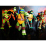 Tartarugas Ninja Filme 4 Bonecos Articulados