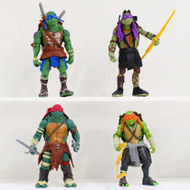 Kit 4 Bonecos Tartarugas Ninjas - 12 Cm - Pronta Entrega