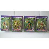 Kit De 4 Tartarugas Ninja Cartelado De Otima Qualidade