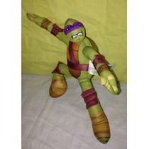 Boneco Donatello Do Tartarugas Ninja Brinquedo Ação Luta