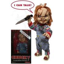 Chucky - Brinquedo Assassino - 38 Cm - Fala Frases - Mezco