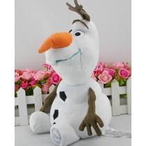 Boneco Pelúcia Disney Olaf Frozen Licenciado E Original