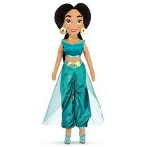 Boneca Princesa Jasmine Alladin - Pelúcia Plush - 52 Cm