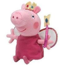 Peppa Pig Pelúcia Peppa Fada 20cms De Altura Ty!