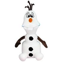 Promoção Pelúcia Olaf 40 Cm Frozen Original Disney Long Jump