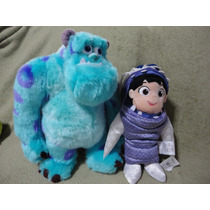 Sulley E Boo Monstros 34cm/28 Cm - Original Disney Store