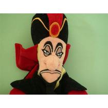Jafar Feiticeiro Importado Pelúcia Aladim Aladdin Disney