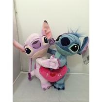 Stitch E Angel Dia Dos Namorados Original Disneyland Paris